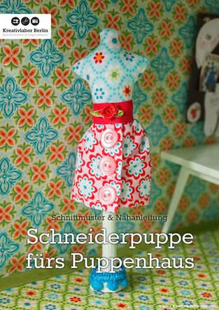 Makerist - Mini-Schneiderpuppe für das Puppenhaus - 1