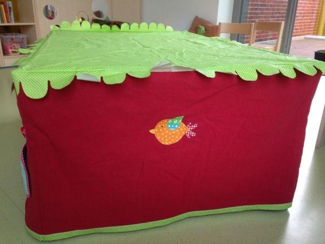 Makerist - Tischhusse Spielzelt für kleine Zwerge - Nähprojekte - 3