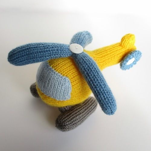 Makerist - Helicopter - Knitting Showcase - 1