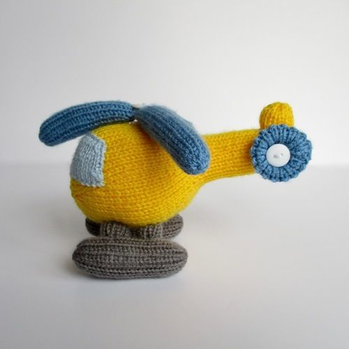 Makerist - Helicopter - Knitting Showcase - 2