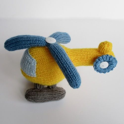 Makerist - Helicopter - Knitting Showcase - 3