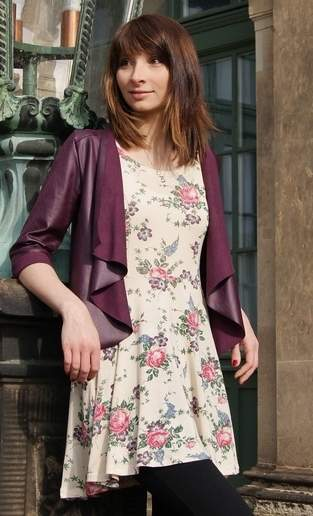 Makerist - Wildblume von Die Wilde Matrossel - Jacke oder Weste für Damen - 1