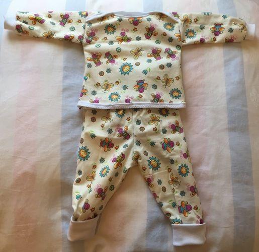 Makerist - Mädchen-Schlafanzug Gr. 74 - Nähprojekte - 1