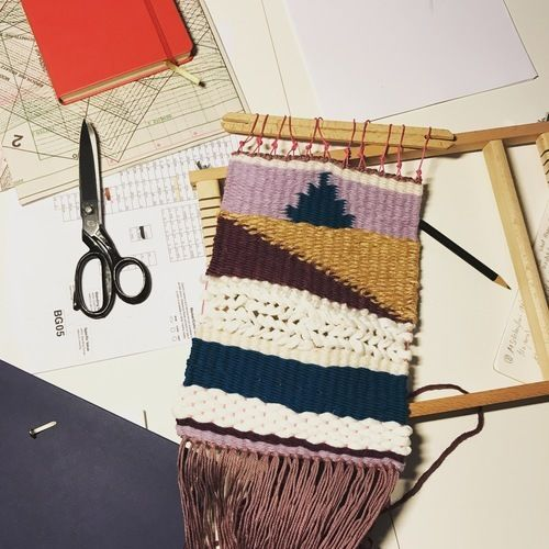 Makerist - Wüstenwebteppich - Textilgestaltung - 1