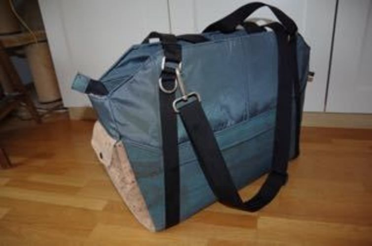 "Makerist - Weekender-Tasche ""Lexa big"" - Nähprojekte - 1"