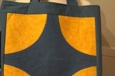 Makerist - Shopper mit gequilteten Kreisen - 1