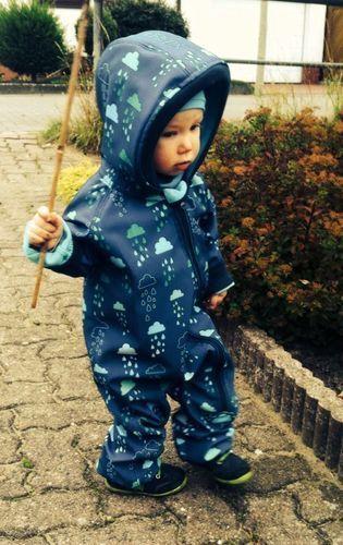 Makerist - Softshellanzug für meinen kleinen Enkel - Nähprojekte - 2