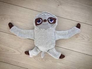 Makerist - Mein Sohn hat ein Faultier selber genäht! - 1