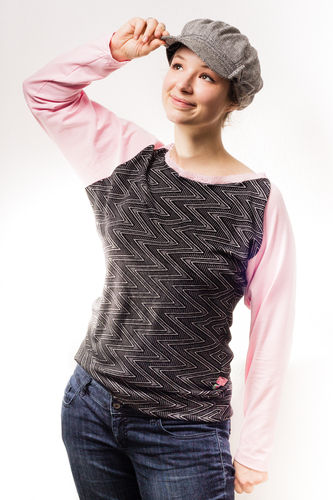 Makerist - Zackiges Shirt - Nähprojekte - 1