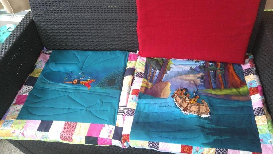 Makerist - Sitzauflage für meine Gartenbank  - Nähprojekte - 1
