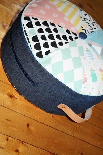 Makerist - Yogakissen Sitzkissen Frau Scheiner schneidert - Nähprojekte - 1