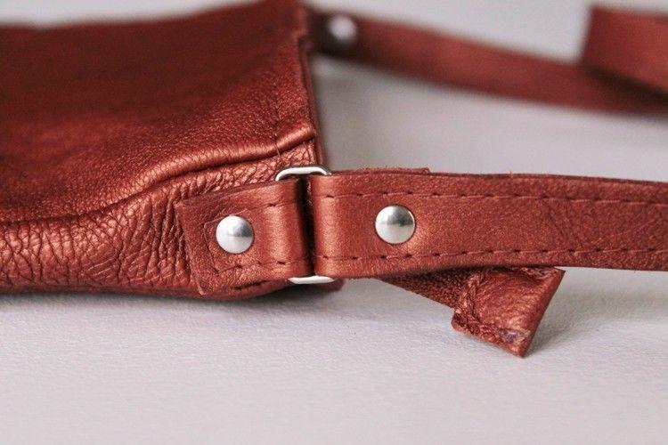Makerist - Petit sac à main en cuir - Créations de couture - 2