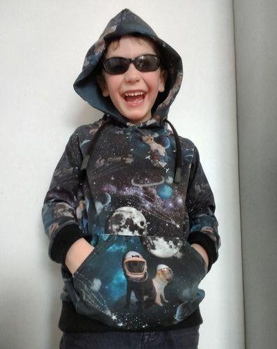 Makerist - Himmlischer Vince als Dark Space Hoodie - Nähprojekte - 1