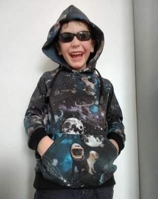 Makerist - Himmlischer Vince als Dark Space Hoodie - 1