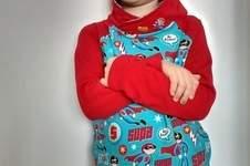 Makerist - Himmlischer Vince als Superhelden-Hoodie - 1