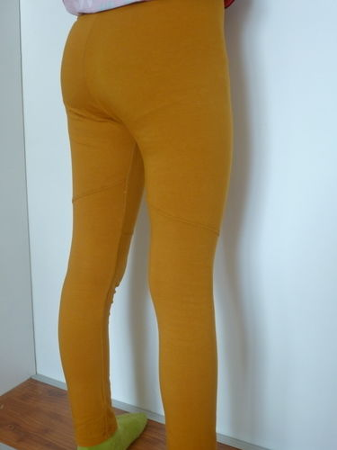 Makerist - Senffarbene Leggings von Konfetti Patterns - Nähprojekte - 2