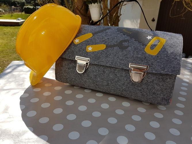 Makerist - Werkzeugtasche aus Arztkoffer  - Nähprojekte - 1