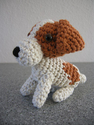Makerist - Jack Russel Terrier - Häkelprojekte - 1