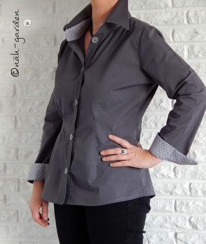 Makerist - nameless Bluse, dabei hätte sie wirklich einen Namen verdient - Nähprojekte - 1