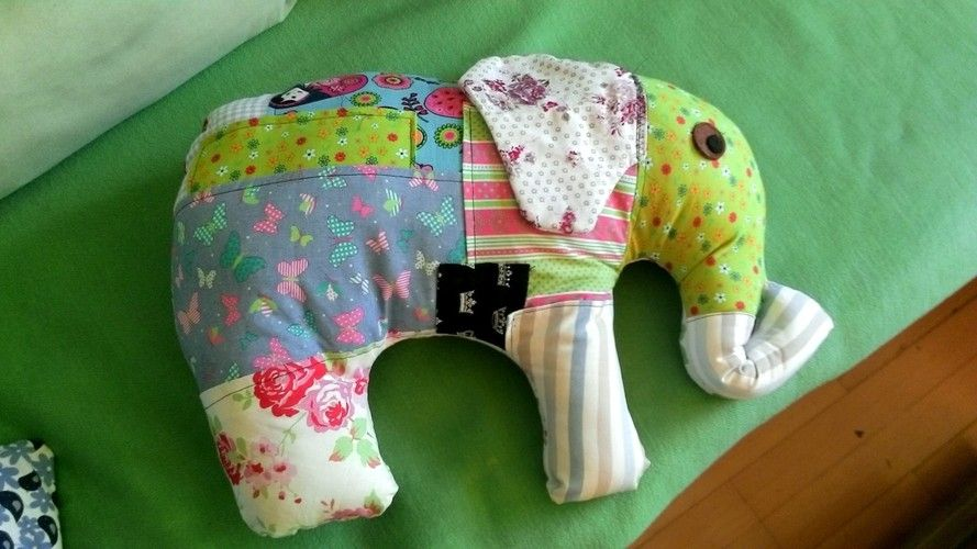 Makerist - Elefantös.... - Nähprojekte - 2
