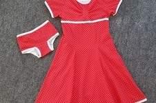 Makerist - Kleid Winterliebe mit passender Unterhose für die Tochter - 1