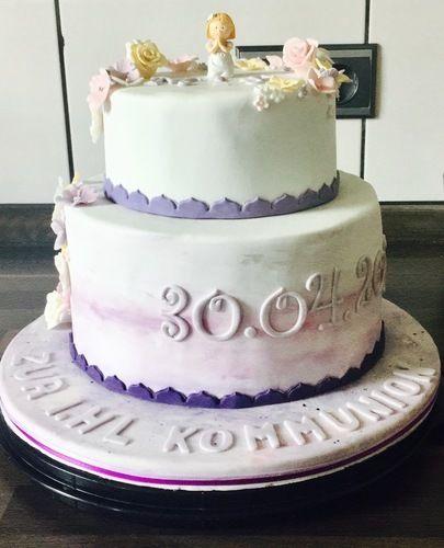 Makerist - Purple flowers - Torten, Cake Pops und Cupcakes - 3