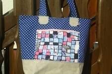 Makerist - Boat Bag von Unikati aus SnapPap und Stoff  - 1