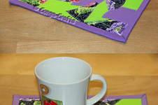 Makerist - DIY Mug Rug Crazy-Patch ebook PDF-Anleitung - 1