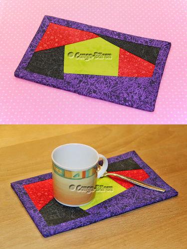 Makerist - DIY Mug Rug Crazy-Patch ebook PDF-Anleitung - Nähprojekte - 3