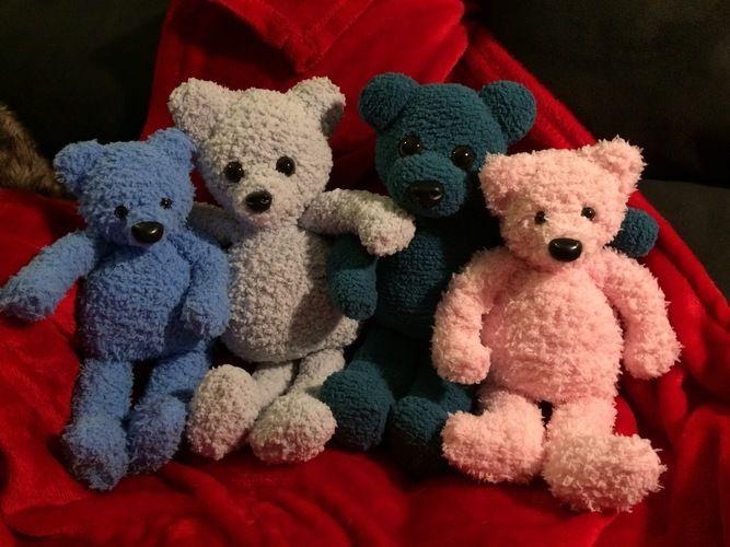 Makerist - La famille nounours - Créations de tricot - 1