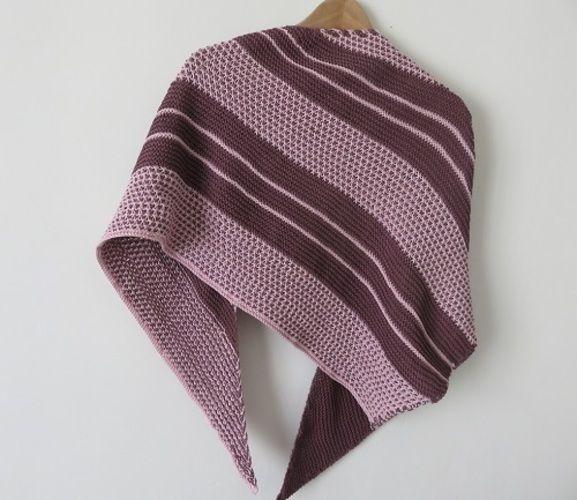 Makerist - Châle Bryum, version 2 - Créations de tricot - 2