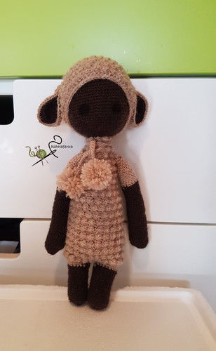 Makerist - Lupo, das Lamm - Häkelprojekte - 1