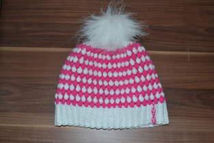 Makerist - Mütze mit Büschelmaschen  - 1