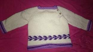 Makerist - kuscheliger Baby-Pullover - 1