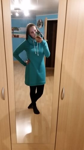 Makerist - Ein Traum von meinem Pulloverkleid - Nähprojekte - 1