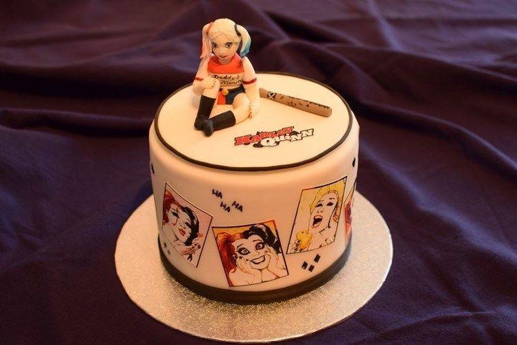 Makerist - Harley Quinn Torte - Torten, Cake Pops und Cupcakes - 1