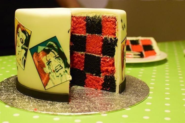 Makerist - Harley Quinn Torte - Torten, Cake Pops und Cupcakes - 2