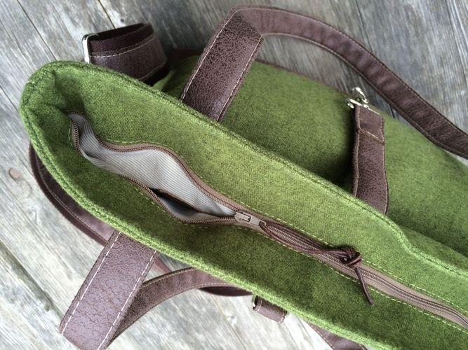 """Makerist - Nähanleitung Tasche """"Hanna"""" - Nähprojekte - 3"""