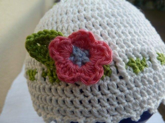 Makerist - Babymütze für Mädchen (1-36 Monate) - Häkelprojekte - 1