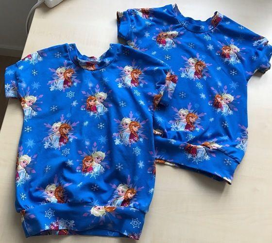 Makerist - Jersey T-Shirt mit Anna und Elsa - Nähprojekte - 2