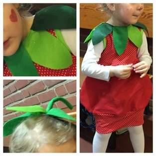 """""""Mama, zu Karneval möchte ich Erdbeere sein!"""""""