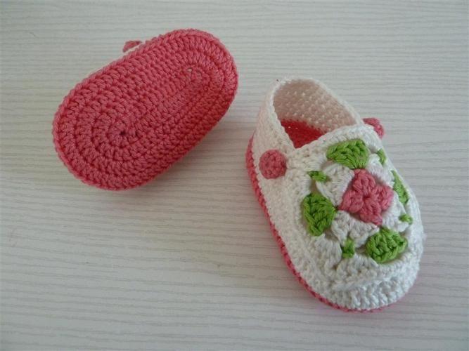 Makerist - Babyschuhe für Mädchen - Häkelprojekte - 3