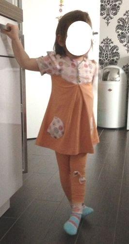 Makerist - Minnitoppi für meine Enkelin aus Jersey - Nähprojekte - 1