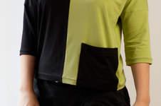 Makerist - Jersey Shirt mit Colorblocking - 1