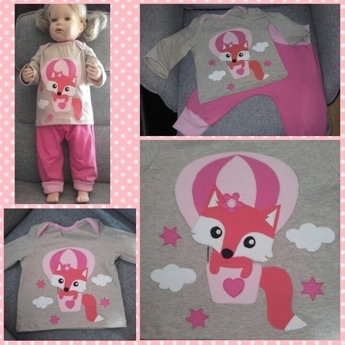 Makerist - Babyshirt für meine kleine Großnichte - Nähprojekte - 1