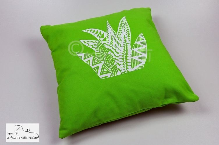 Makerist - Plotterdateien Kakteen Tangle-Style dxf, svg, png von Min Ziari - Textilgestaltung - 1