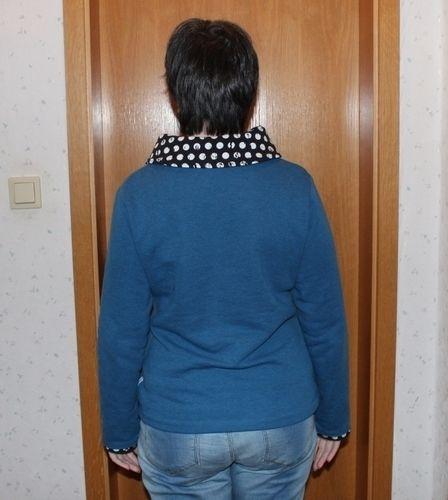 Makerist - Mrs. Klassik mit Pünktchenkragen - Nähprojekte - 3