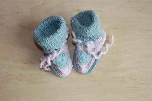 Makerist - Babyschuhe für mein Enkelkind - 1