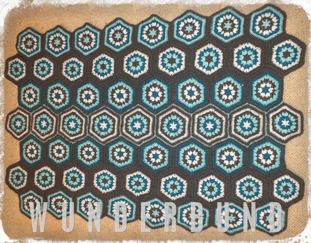 Makerist - Granny Hexagon Babydecke - Häkelprojekte - 1