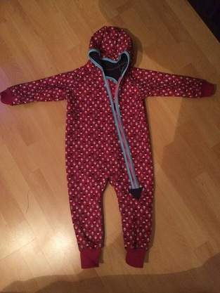 Makerist - Outdooranzug aus Softshell von kid4 für meine Tochter  - 1